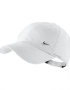 Biała czapka z daszkiem PILNE