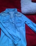 jeans koszula 36