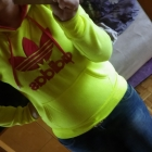 Bluz ADIDAS Neonowa Żółta