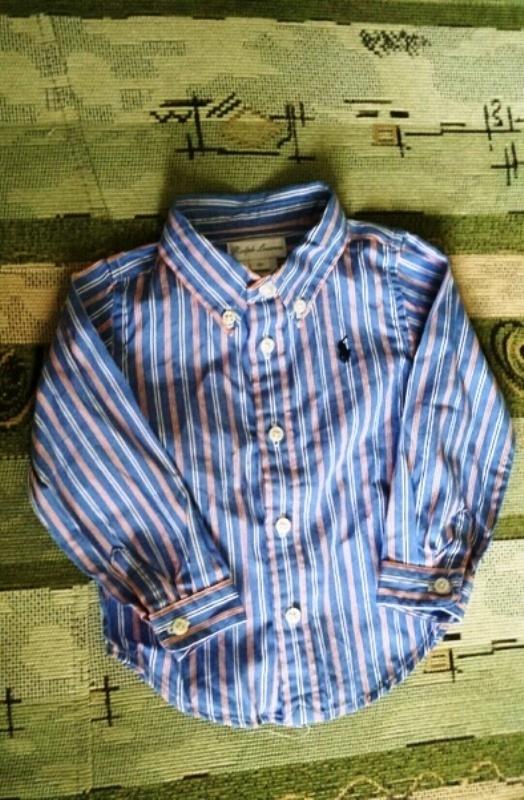 Koszulki, podkoszulki Koszula niemowlęca Ralph Lauren