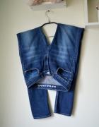Spodnie rurki jeans 36