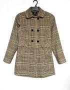 H&M płaszcz w pepitkę