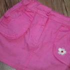 BARBIE biała bluzka różowa spódniczka 98 104