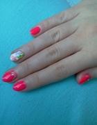Mój wiosenny manicure...