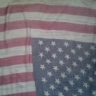 Duża chusta flaga amerykańska