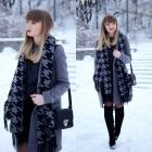 Spódnica zimą