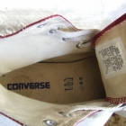 Oryginalne Bordowe Trampki Converse 37