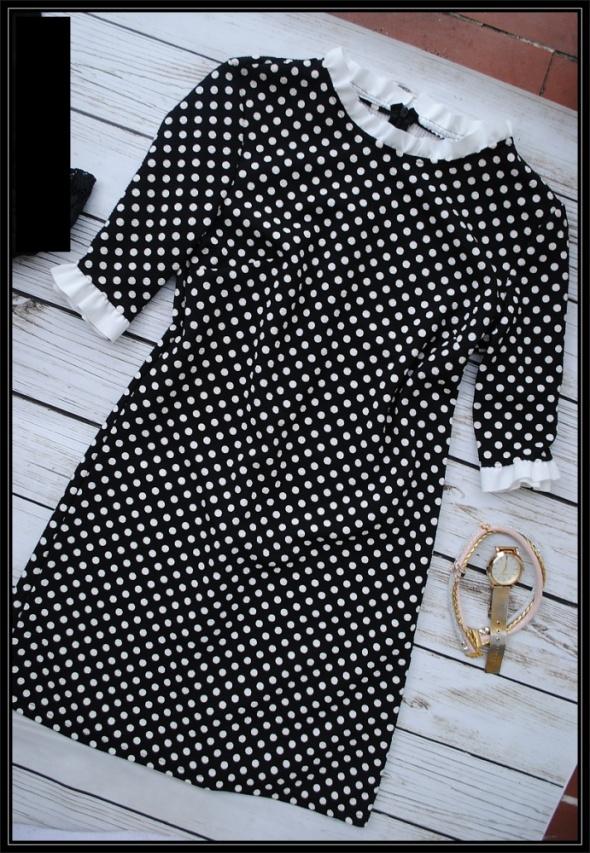 sukienka groszki S