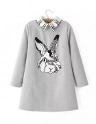 Sukienka z królikiem