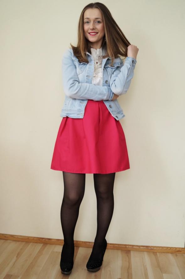 Blogerek Różowa spódnica HIT na wiosnę