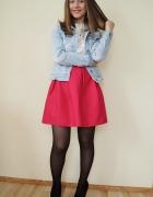 Różowa spódnica HIT na wiosnę...