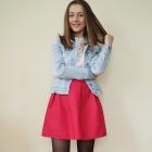 Różowa spódnica HIT na wiosnę