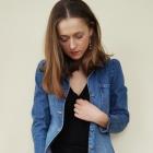 Mała czarna i jeans