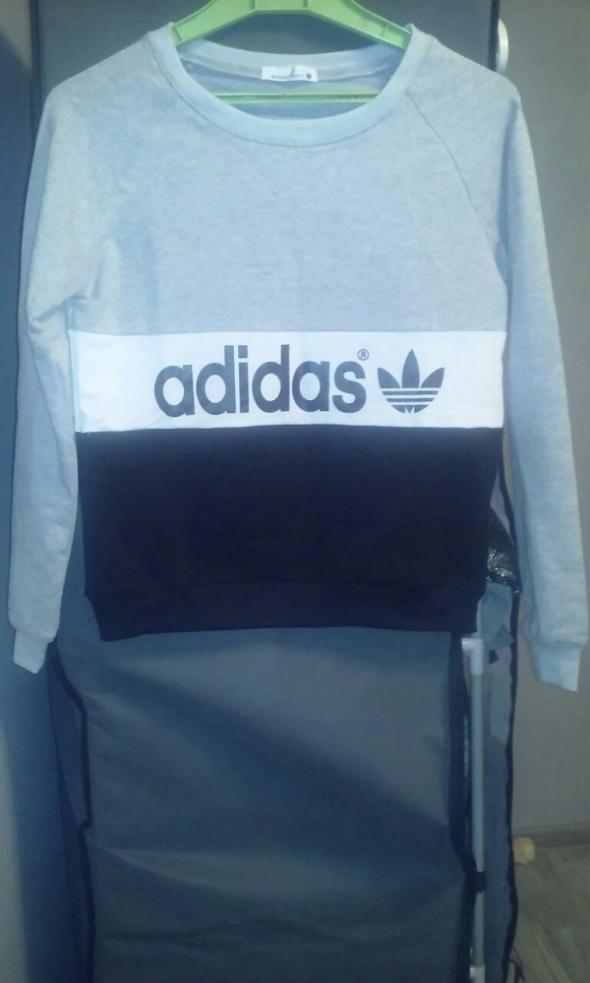 Bluza Adidas szara nowa