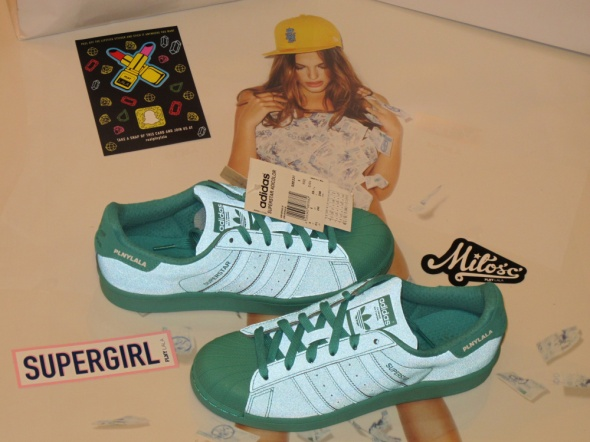 Adidas buty Originals Superstar Kolor Shock Mint...