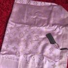 Chusta Louis Vuitton LV logowana zlota nic 180na70