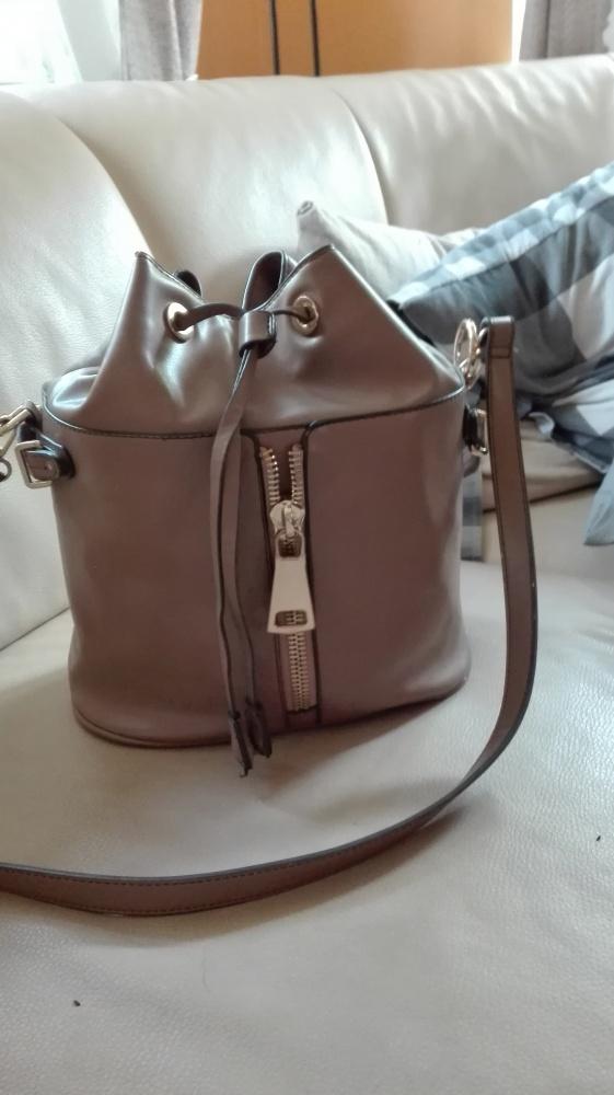 817bf1519438c Zara shopper bag worek karmel hit polecam modna w Torebki na co ...