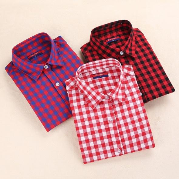 Koszule w kartę