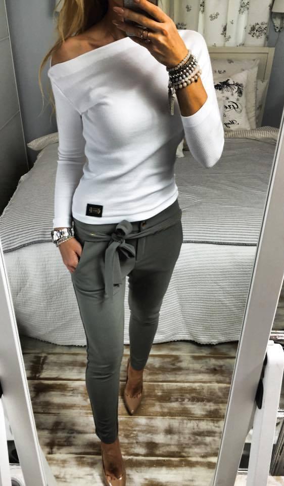 Codzienne white & grey