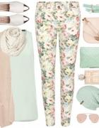 pastelowe kwiaty...