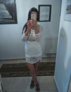 Sukienka koronkowa mini