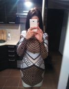 Seksowna sukienka mini