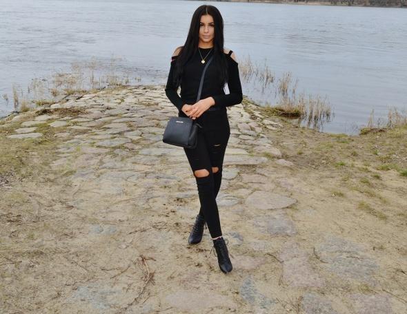 Blogerek czerń