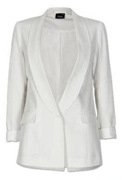 Ubrania marynarka biała cubus