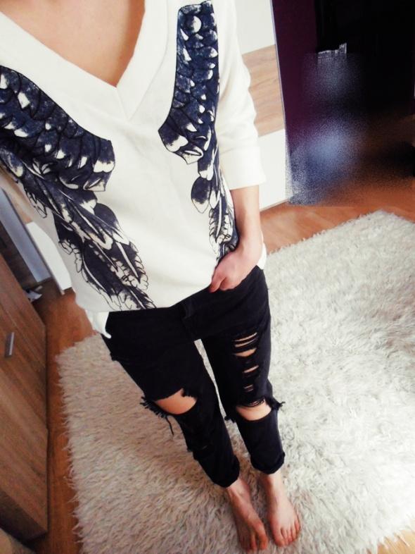 Mój styl Luzno bluza