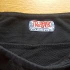 Spodnica mini Zara Trafaluc idealna czarna