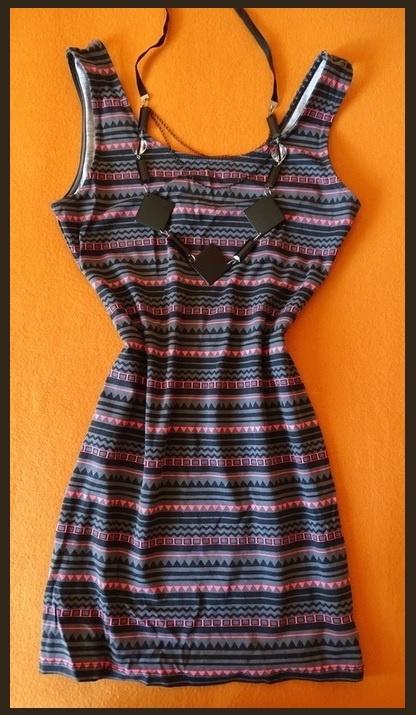sukienka XS tuba aztec...