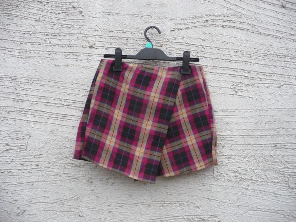 Spódnice spódnico spodenki w kratę hit na jesień zimę