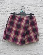 spódnico spodenki w kratę hit na jesień zimę...