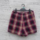 spódnico spodenki w kratę hit na jesień zimę