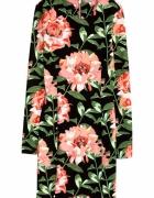 szukam sukienka przylegajaca h&m floral kwiaty