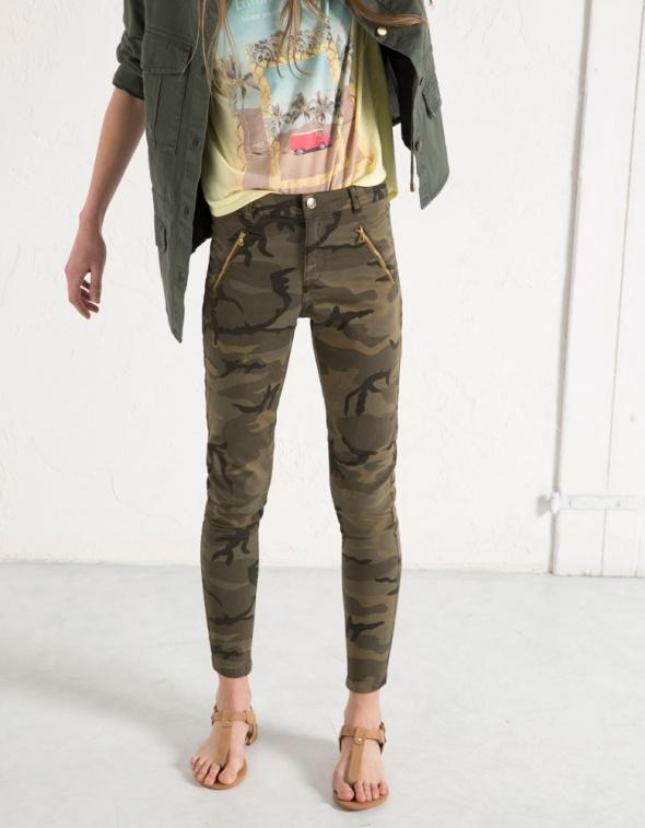 Ubrania Spodnie moro rurki
