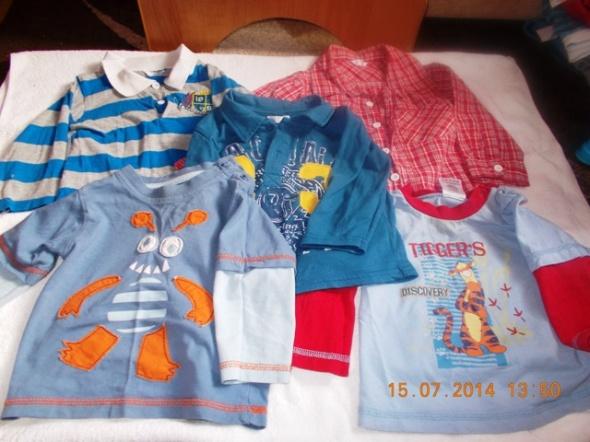 Komplety komplet ubrań chłopiec 9 12 miesięcy