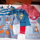 komplet ubrań chłopiec 9 12 miesięcy