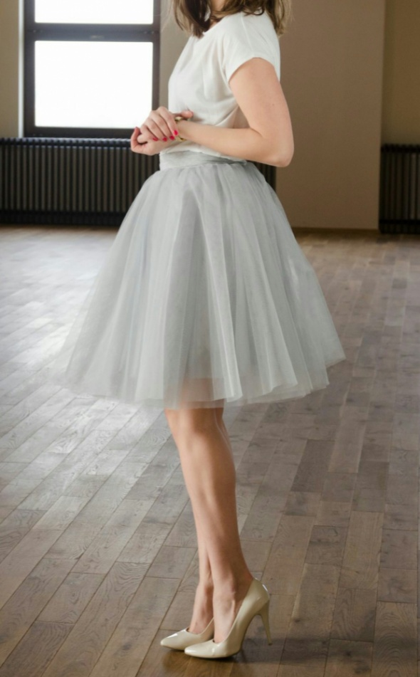Moja ulubiona spódnica tiulowa
