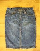 Levis ołówkowa jeansowa spódniczka 40 42