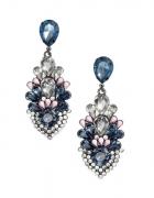 H&M kolczyki z kryształkami