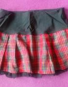 Sexy spódnica w kratkę