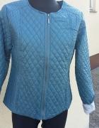 NOWA niebieska pikowana kurteczka...
