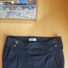 Spodnica jeansowa Bershka czarna
