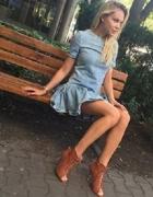 Botki szpilki wiązane Lauren Deezee 37...
