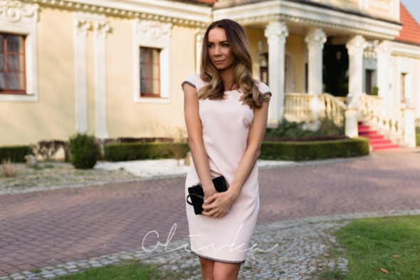 Na specjalne okazje Olivka Sukienka na specjalne okazje