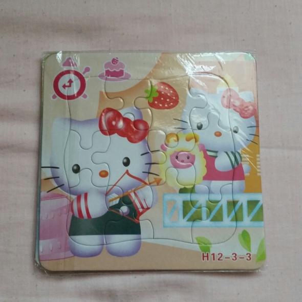 Zabawki Hello Kitty puzzelki 2
