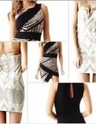 Guess sukienka asymetryczna