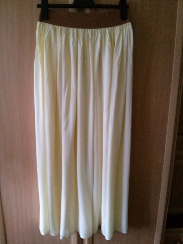 Spódnice Długa zwiewna spódnica oversize