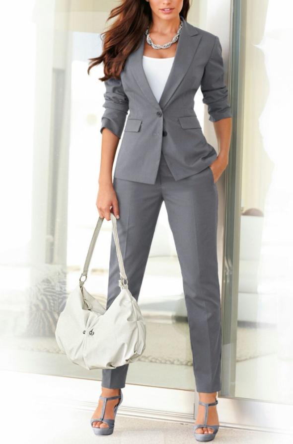 Eleganckie Spodnium elegancki zestaw